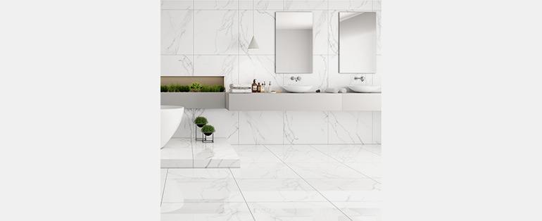 Porcelanato | Porcelanato Carrara Polido Retificado 71x71cm Caixa com 1,51m² / 3 Peças - RXPTR71710 - LEF PISOS | Blog Copafer